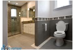 Master bathroom Los Altos